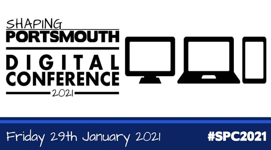 Shaping Portsmouth Digital Conference 2021 - poster