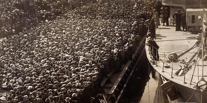 UoP History Webinar - Royal Navy destroyer flag-flying visits - cover image